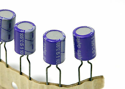 New X 10pcs Sanyo 16v 100uf Oscon Os-con Os Organic Elect. Audio Capacitor Japan