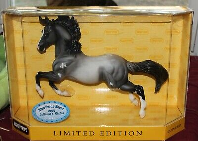 BREYER #1266 BLUE SUEDE SHOES SILVER MOLD BLUE ROAN SABINO PINTO *MIB*