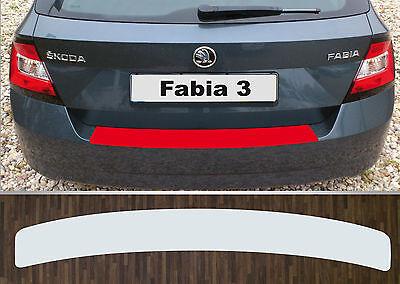 Lackschutzfolie Ladekantenschutz transparent Skoda Fabia 3 Limousine, ab 2014