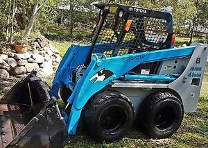 TOYOTA SDK 8  SKID STEER LOADER Oxley Brisbane South West Preview