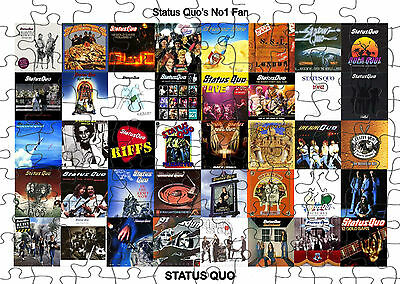 STATUS QUO  JIGSAW PUZZLE A4 120 PIECE Great Gift Idea  Free Postage