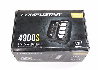 Computar 4900S 2-Way Remote Start And Keyless Entry System 3000ft Range Car