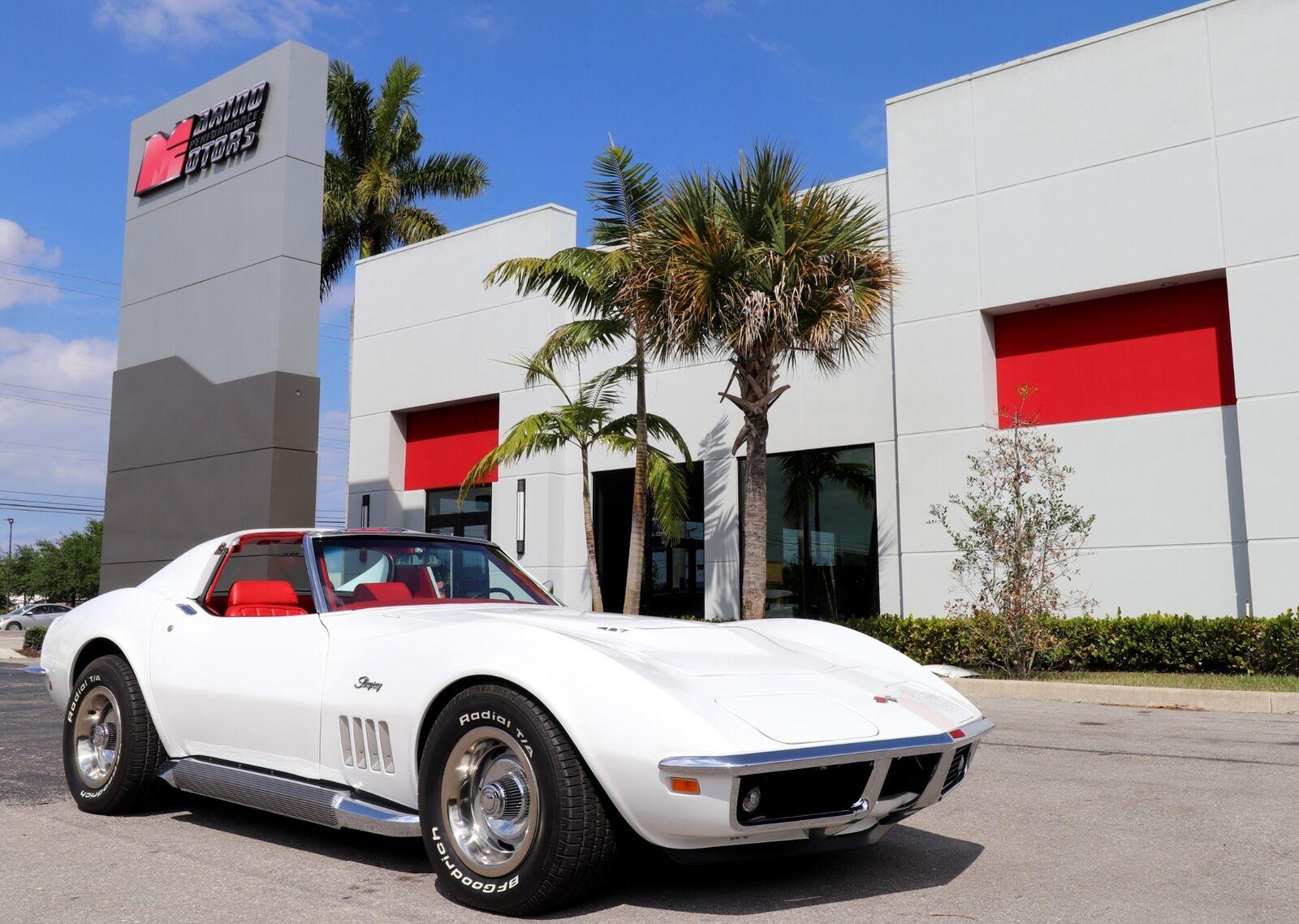 1969 White Chevrolet Corvette   | C3 Corvette Photo 1