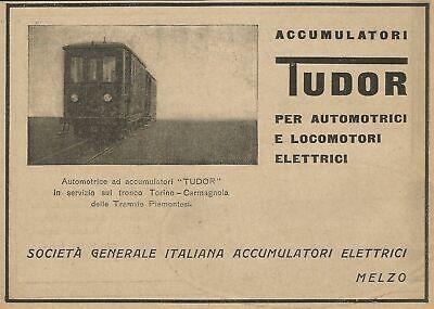 Acumuladores eléctricos Tudor Z0032 - Anuncio de 1926 - Publicidad