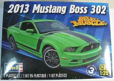 Revell 85-4187 Mustang Boss 302 2013 1:25 Scale Plastic Kit