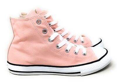 Converse Youth Kids CTAS Hi Skate Sneakers Storm Pink Size 2 M