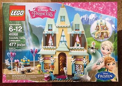 Disney Princess 41068 ARENDELLE CASTLE CELEBRATION Frozen 477 Pieces New In Box!
