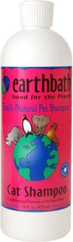 Earth Bath Cat Shampoo & Conditioner In One 16oz  Free Shipping New w/Seal