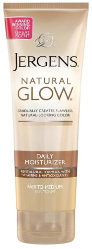Jergens Revitalizing Daily Moisturizer Fair To Medium Skin T