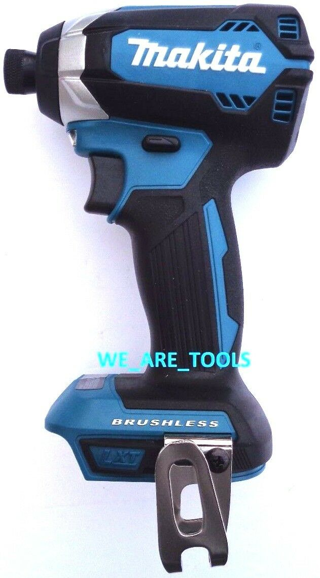 "New Makita Brushless 18V XDT13 Cordless 1/4"" Impact, Driver,"