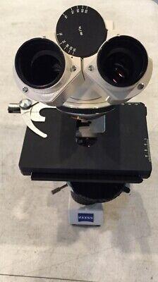 Carl Zeiss Axiostar Plus Microscope Sn 3108016340