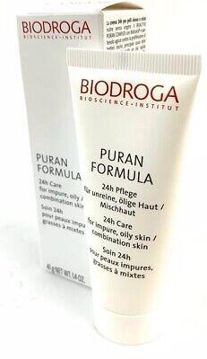 Biodroga Puran Formula 24 Hour Care for Dry Skin 40ml 1.4oz