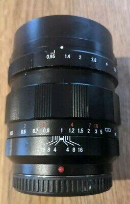 Voigtlander Nokton 42.5 42.5mm F/0.95 MFT best fastest (Best Micro Four Thirds Lenses)