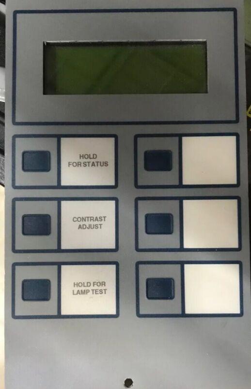 Notifier LCD-80 Annunciator