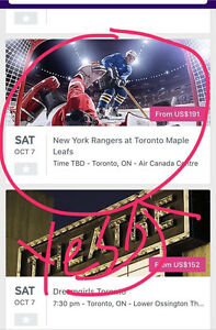 Toronto Maple Leafs Tickets for 2017-2018 LOW PRICES!