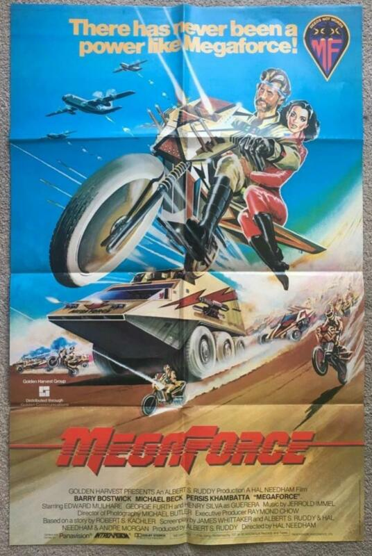 Barry Bostwick Michael Beck H.Silva Persis Khambatta MegaForce movie poster 2813