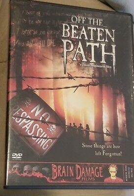 Off the Beaten Path DVD RARE BRAIN DAMAGE FILMS HORROR TVMA Jason - Jason Horror Films