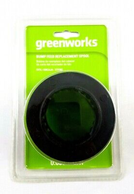 Greenworks 2936602 Dual Line Bump Feed Replacement Spool Trimmer Line -