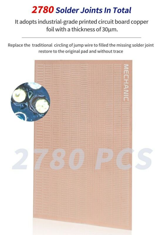 MECHANIC 1ND Dot Repairing Soldering Lug Replace Fly Line Jumper Wire Pad