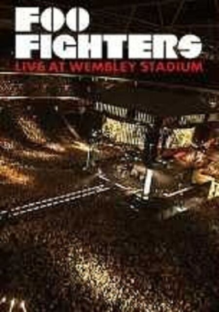 "FOO FIGHTERS ""LIVE FROM WEMBLEY"" BLU RAY NEU"