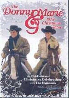 DONNY & MARIE OSMOND 'THE DONNY & MARIE...' DVD NEW+ Donny Marie Osmond Family