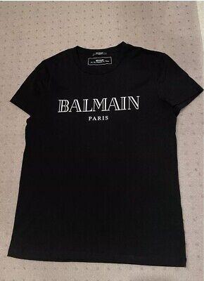 Authentic Balmain Men's Logo T-shirt - Size Medium (WORN ONCE!)
