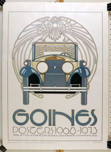 Goines Posters 1968 - 1973