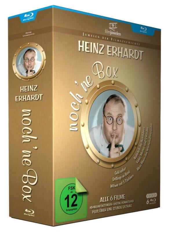 6 Blu-rays * HEINZ ERHARDT  NOCH 'NE BLU-RAY BOX (6 KULTFILME IN HD) # NEU OVP