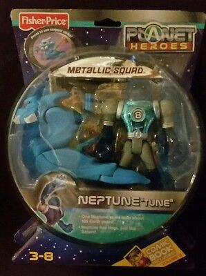 Fisher-Price Planet Heroes Neptune Metallic Figure