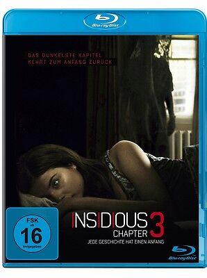 Blu-ray * Insidious: Chapter 3 Jede Geschichte hat einen Anfang * NEU * (Teil 3)