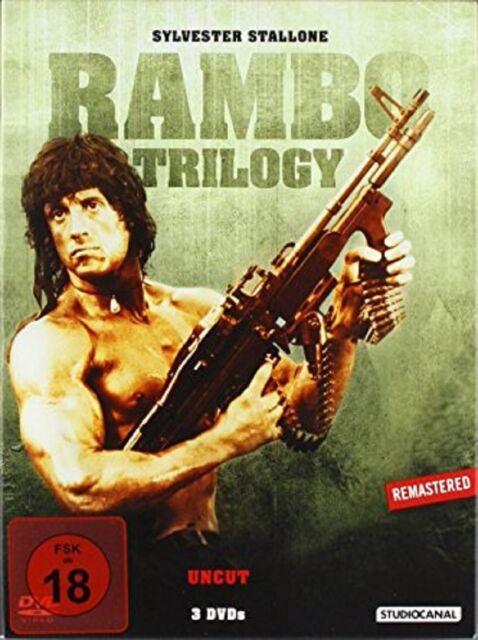 Rambo Trilogy (Uncut, Special Edition) - NEU OVP - 3 DVDs - Erstauflage