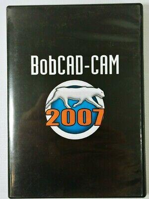 Bobcad Cam 2007 Software Drafting 3-d Modelling Engineering Cnc Demo