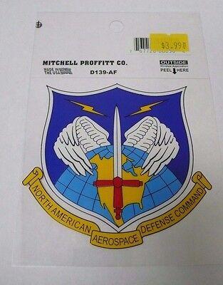 Us Airforce D139 Af N  American Aerospace Defense Command Car Decal Sticker