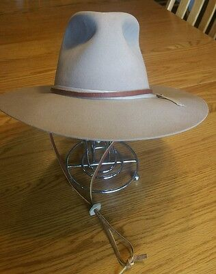 Vintage Cattlemen Hat Men's Size 7 1/8