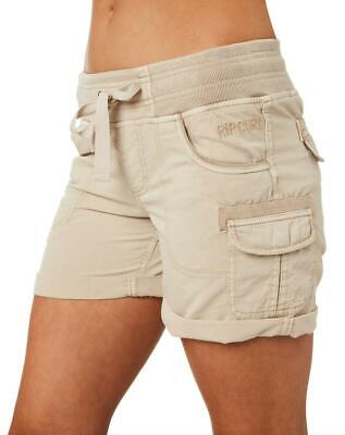 Almost Famous Big Girls Multi Color Stitch Short