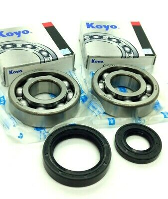 Koyo Main Crank Shaft Bearings & Seals Kit CR250, CR500, YZ250, KX250, RM250,