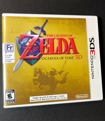 The Legend of Zelda Ocarina of Time 3D [ First Print ] (3DS) USED, usado comprar usado  Enviando para Brazil