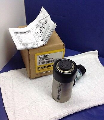 Enerpac Rc102 Nv Hydraulic Cylinder 10 Tons 2in. Stroke Usa Made