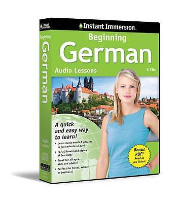 Topics Entertainment 6 Cd Beginning German Language + Tra...