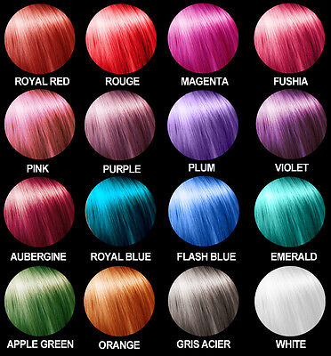 Semi permanente Haarfarbe Haartönung direktziehende Tönung 0% Oxydant - Semi Permanente Haar Farbe