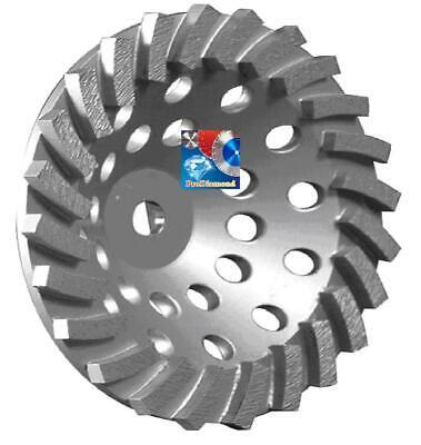 7 X24seg Spiral Turbo Diamond Cup Wheel 4 Concreteblockmasonry Grinding-best