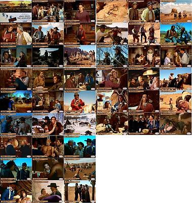 The Searchers John Wayne movie storyboard trading cards