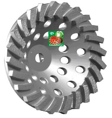7x24seg Spiral Turbo Abrasive Diamond Cup Wheel Concrete Grinding 58-11best