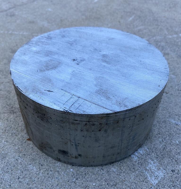 "6"" Diameter 6061 Aluminum Round Bar / Rod 6"" x 2.75"" Length"