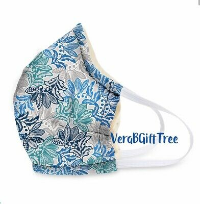 Vera Bradley Non-Medical Cotton Face MASK Covering In SANTIAGO FLORAL NWT RARE