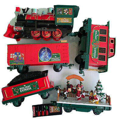 Disney Parks Holiday Train Express Christmas Mickey & Friends Train Set