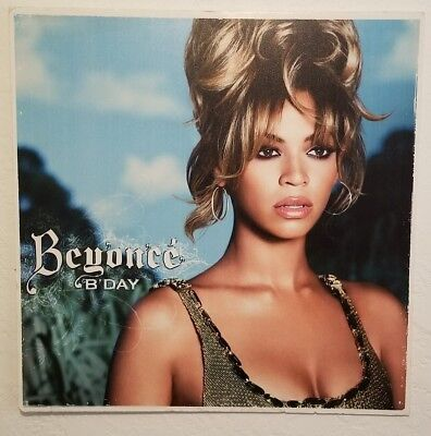 """BEYONCE B DAY large 24"""" x 24"""" poster board picture"""