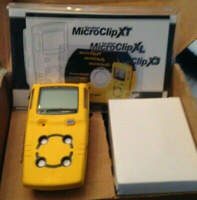 New 2019 Bw Technologies Microclip Xl Four Gas Monitor New Cal And Warranty