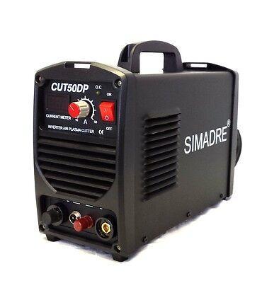 Simadre Pilot Arc 50amp 110v220v Plasma Cutter W 25 Pilot Arc Consumables