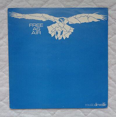 Music De Wolfe Roger Webb Free As Air lp,